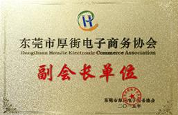 东莞市厚街电子商务协会副会长单位