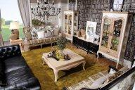 低调奢华为主,彰显出主人的品味的高端法式家具。