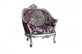 高档时尚法式雕刻休闲椅