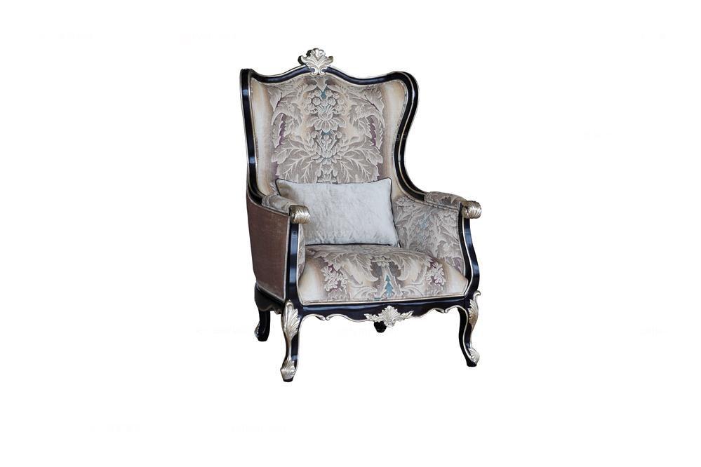 高端法式雕花休闲椅