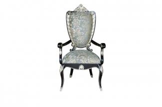 高端别墅法式扶手餐椅