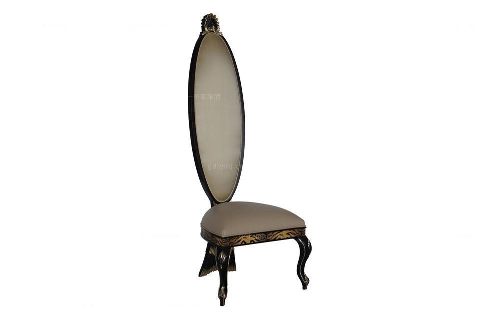 高端时尚法式形象椅