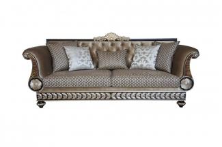 高端别墅法式三位沙发