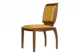 高端品牌美式黄色书椅