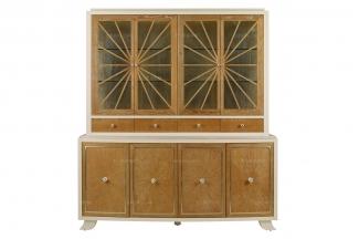 高端实木家具美式酒柜