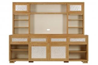 高端实木家具品牌美式电视柜
