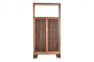 高端东南亚实木装饰柜