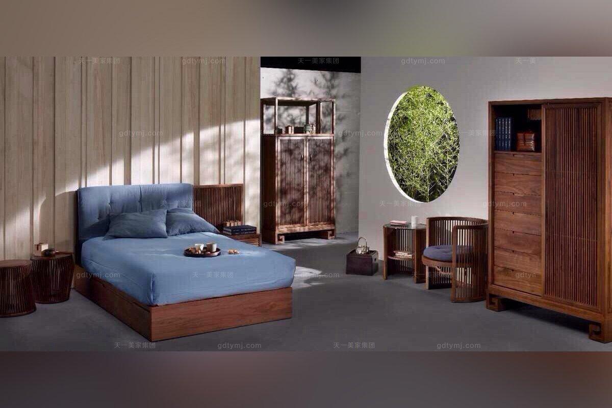 高端东南亚实木衣柜