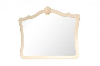 高端品牌美式白色妆镜