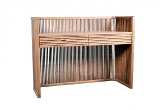 高端东南亚实木书桌