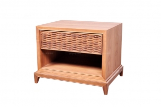 高端东南亚实木床头柜