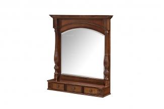 高端品牌美式原木色妆镜