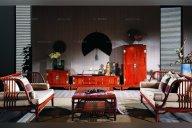 现代装修中的古典家具元素营造出的贵族气派。