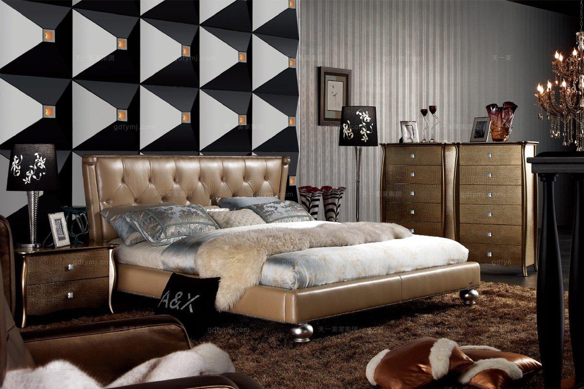 高端品牌后现代床头柜