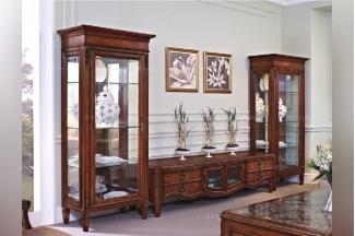 高端合肥别墅家具实木美式电视柜