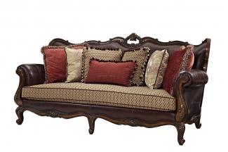 高端进口家具美式三位沙发