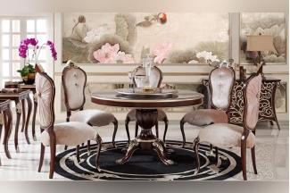 高端家具品牌奢华新古典餐椅