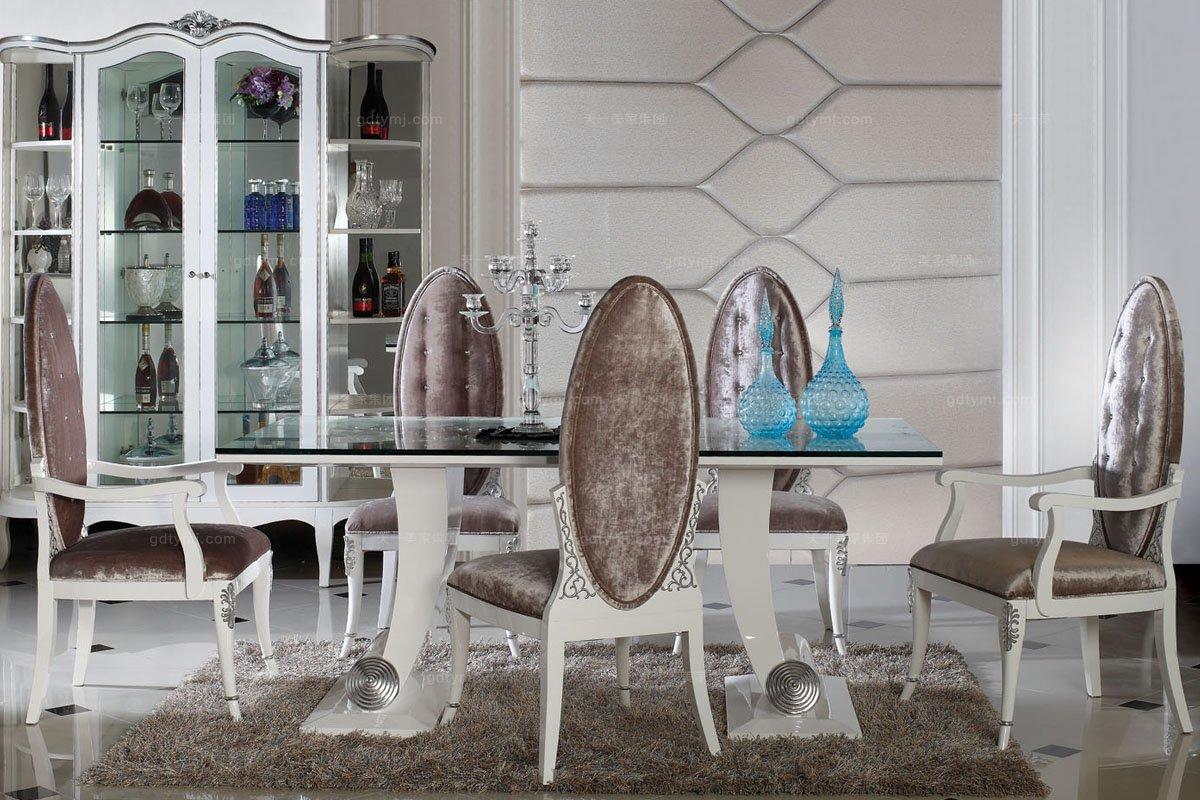 高端欧式家具奢华新古典餐椅