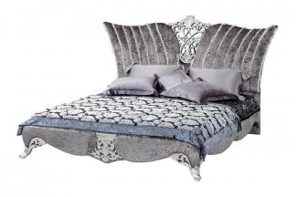 高端奢华家具新古典双人床