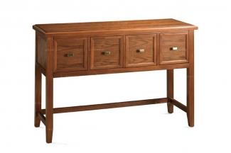 高端实木家具美式背几