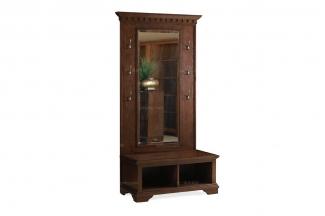 高端实木家具美式穿衣镜