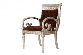 高端奢华新古典实木书椅