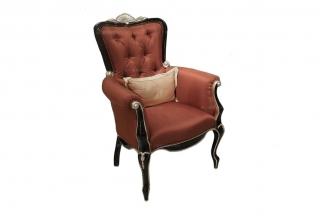 高端奢华新古典海绵扪布书椅