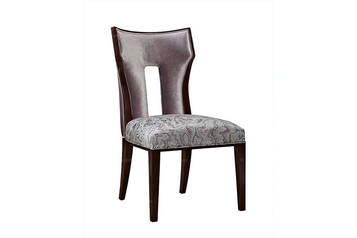 5星级酒店万博手机网页奢华新古典实木无扶手椅