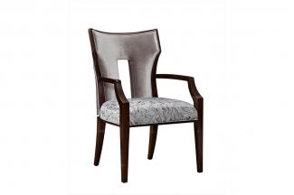 高端简约新古典实木扶手椅