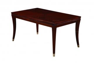 高端简约新古典实木长餐桌