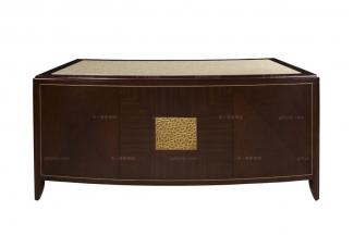 高端简约新古典实木书桌