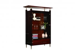 高端简约新古典实木装饰柜
