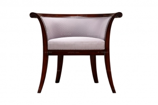 高端简约新古典实木沙发