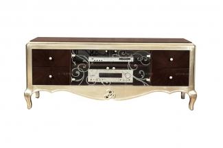 古典家具會所實木電視柜