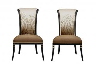 高端新中式东海单人椅