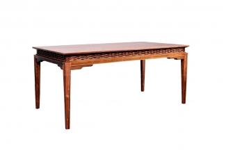 高端东南亚餐厅家具实木餐桌