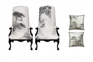 高端新中式单椅