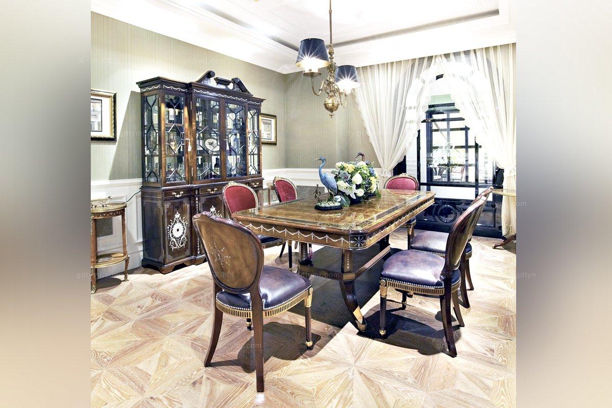 高端别墅家具欧式雕花铜饰上下座酒柜