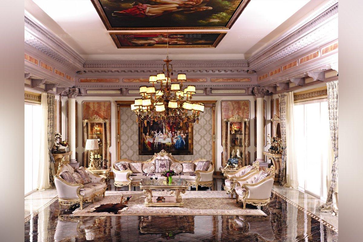 别墅家具欧式雕刻单人沙发