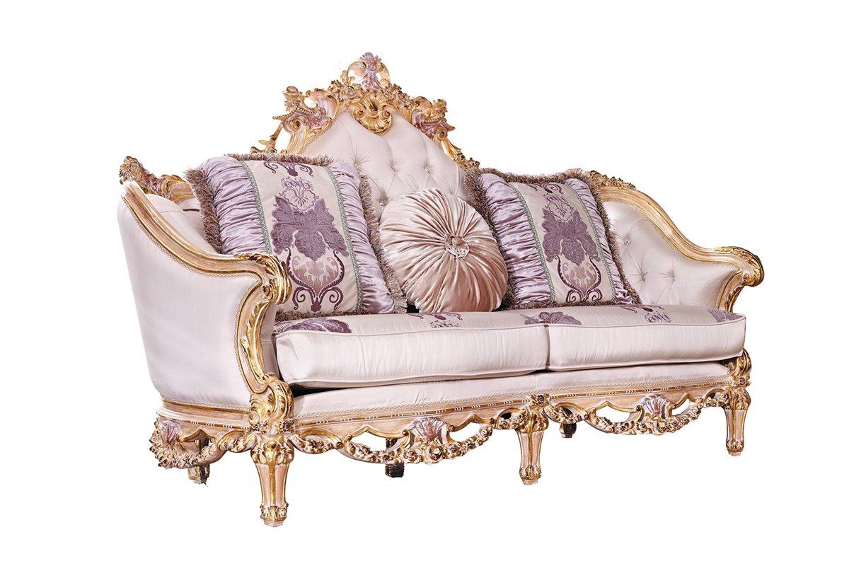 高端别墅欧式二人位沙发