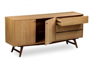高端东南亚家具实木餐边柜