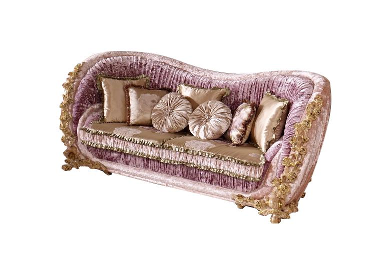 高端布艺沙发欧式三人位沙发