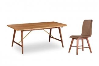 高端东南亚家具实木无扶手餐椅