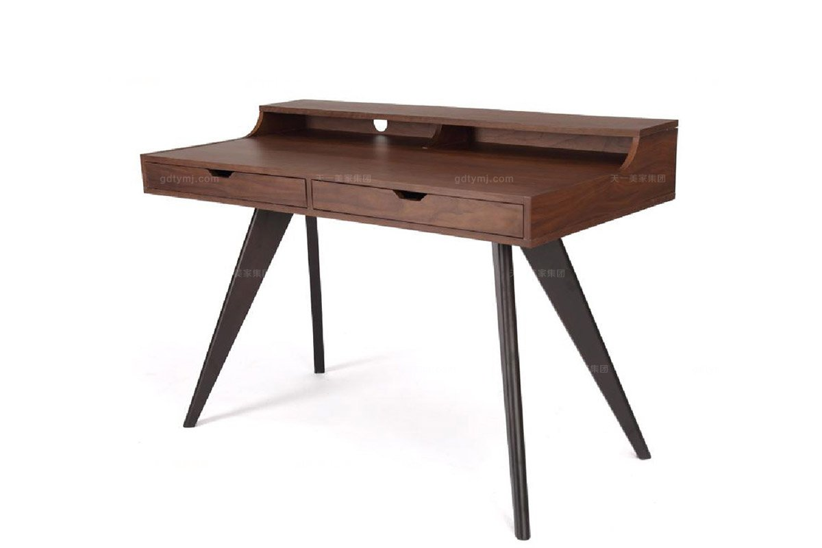 高端东南亚万博手机网页实木书桌