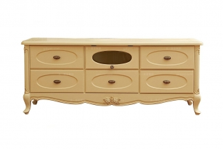 高端法式家具实木电视柜