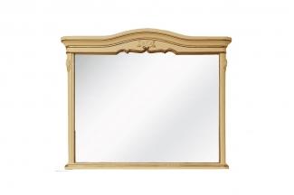 高端法式家具实木象牙白妆镜