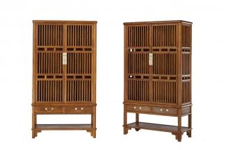 实木家具红木酒柜