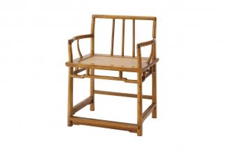 实木家具红木矮背官帽椅