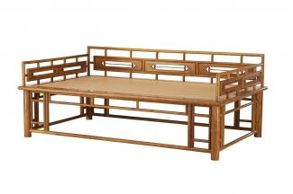 高端木质家具红木罗汉床