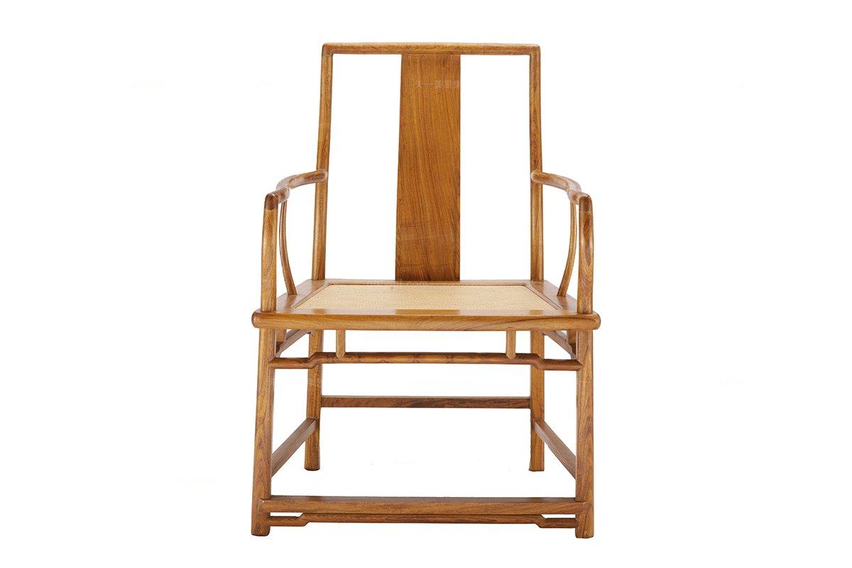 实木家具样板间红木官帽椅